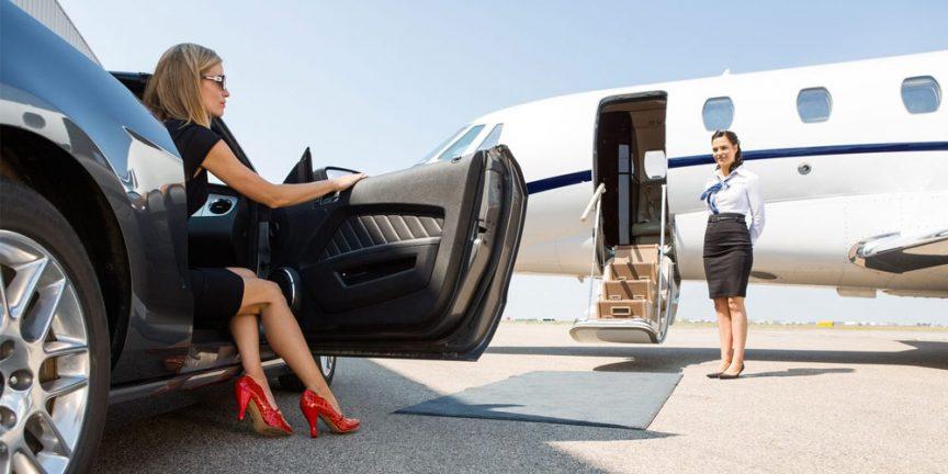 Перелет на частном самолете